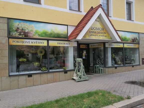Pobočka Vamberk, Husovo náměstí 86 (Domov design Anna)