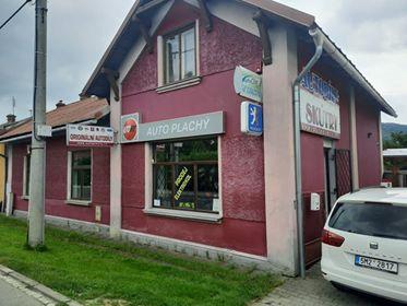 Pobočka Hranice, Žáčková 614 (Auto plachý)