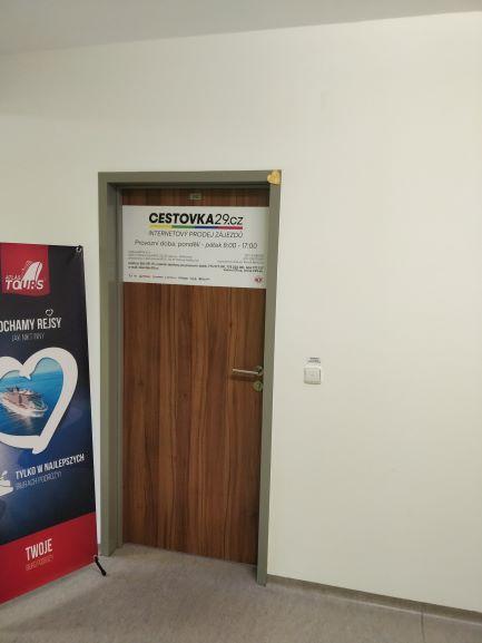 Pobočka Ostrava, U Nemocnice 837/2  (Cestovka29)