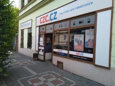 Pobočka Jičín, Fügnerova 234 (Prodejna výpočetní a kancelářské techniky,  CZC.CZ)