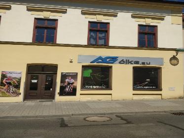 Pobočka Stříbro, Mánesova 497 (AGbike.eu)