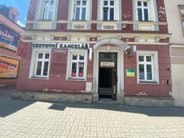 Pobočka Sokolov, Staré náměstí 23 (Cestovní kancelář Lubica)